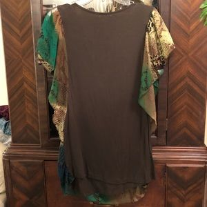live and let live Tops - XL Snakeskin Print Top
